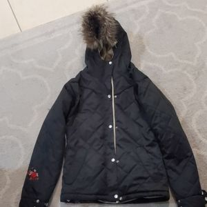 New w out tags winter coat small snow board coat